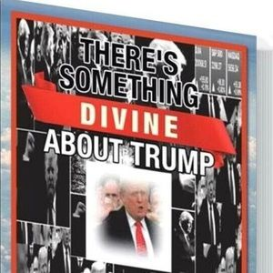 There is Something Divine About Trump Book.